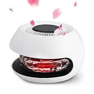 Tvird Aroma Diffusor Diffusor Aromatherapie,Diffuser Luftbefeuchter mit LED,Solarenergie, luftreiniger zum Entfernen von Geruch, Rauch für Auto/Büro/Bar/Restaurant/Wohnzimmer/Schlafzimmer