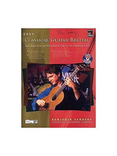 Benjamin Verdery: Einfach klassischen Gitarre Erwägung Buch und CD-Sheet Music (Gitarre Klassische Bücher)