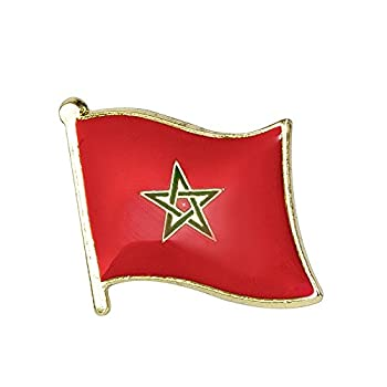 Pin de metal con la bandera...