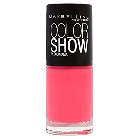 Gemey-Maybelline - Colorshow Rebel Bouquet - Vernis à ongles Rouge - 428 vivid rose