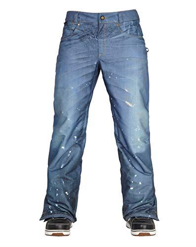 686 Herren Snowboard Hose Parklan Deconstructed DNM Pants 686 Snowboard-outerwear