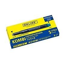 ONLINE Schreibgeräte 17036/12 ricaricatore di penna Blu 12 pezzo(i)