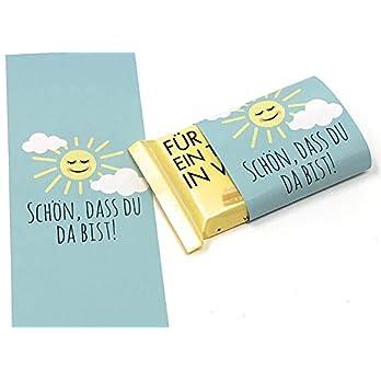 Schokoladenbanderolen, Gastgeschenk zur Taufe, Kommunion, Konfirmation Schulanfang oder Hochzeit, Banderolen für Schokolade, Taufgeschenk