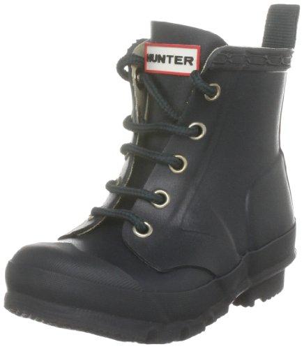 Hunter Hunter Thurloe Kids, Chaussures de sport mixte enfant Bleu Marine