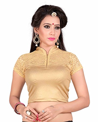 Sr Studio Women'S Designer Party Wear Collection Low Price Sale Offer Readymade Stretchable Saree Blouses  available at amazon for Rs.269