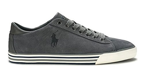 Polo Ralph Lauren HARVEY Sneakers Basse Uomo Grigio 42