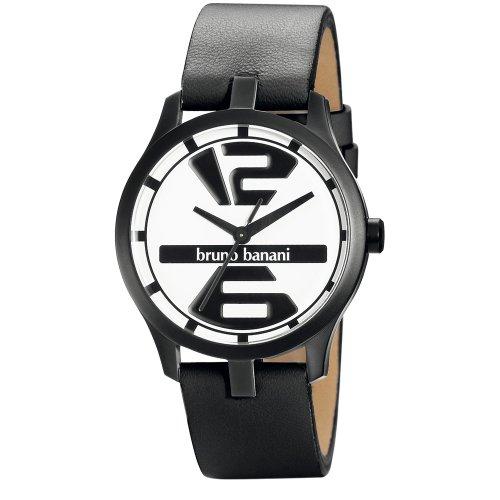 Bruno Banani Men's Quartz Watch BR21036 with Leather Strap