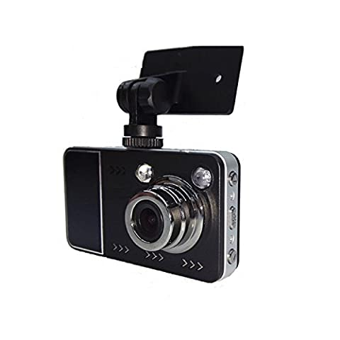 Car Dash Cam Camera, Kingcenton Car DVR Digital Driving Video Recorder 2.4 inch 720P HD with 2 LED lights Portable & Compact Camera Recorder Vehicle/Car Camera with Night Version G-Sensor and Motion