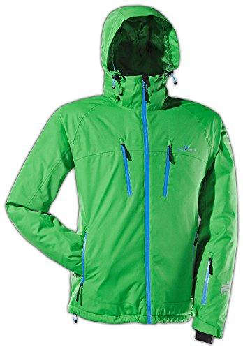 Black Crevice Herren Ski- und Snowboardjacke, grün, 50, BCR251003