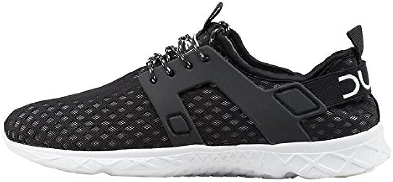 Dude Shoes Men's Mistral Black Airflow Trainer