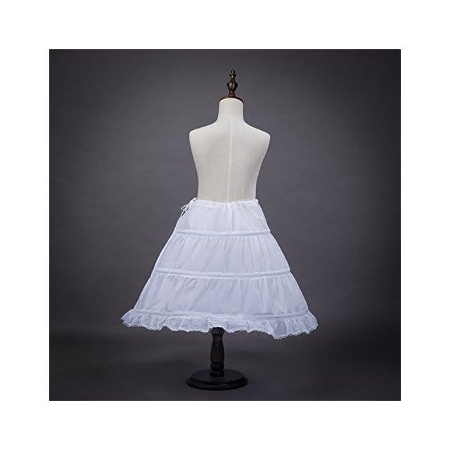 f244b7256d7 ... Biee upon de Robe de cérémonie pour Enfants de Filles 2-14 ans - Blanc
