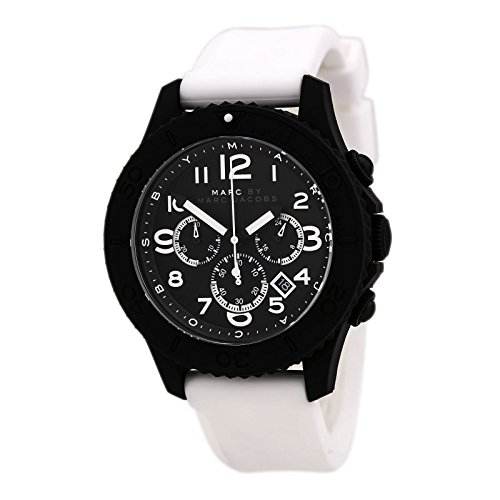 Marc by Marc Jacobs MBM5525 Mens Black White Rock Watch