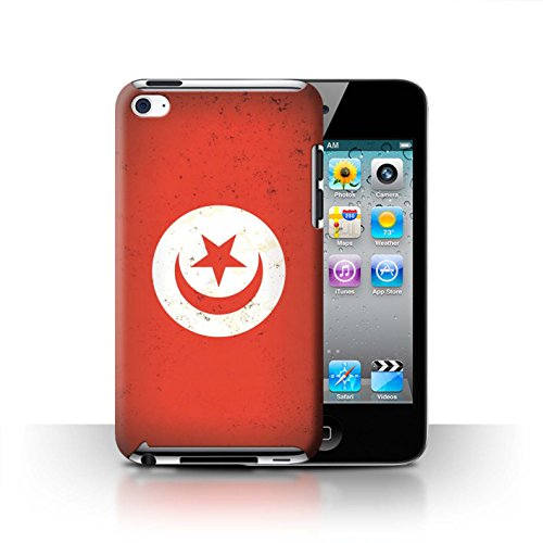 Coque de Stuff4 / Coque pour Apple iPhone 6S / Tunisie/Tunisien Design / Drapeau Africain Collection Tunisie/Tunisien