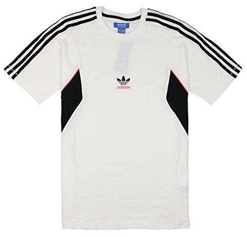 Preisvergleich Produktbild adidas Herren Teorado Track Shirt Large White Black Pink