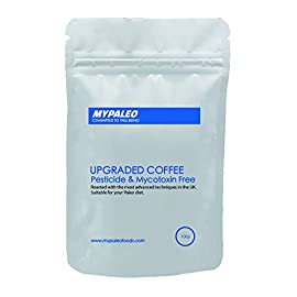 Paleo Bulletproof Coffee – Arabica Coffee | No Pesticides and Mycotoxin Free | Super Clean Natural Process | Freshly Hand Roasted at Small Batches (Ground, 100g)