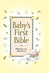 Baby's First Bible by Carlson, Melody (2002) Hardcover
