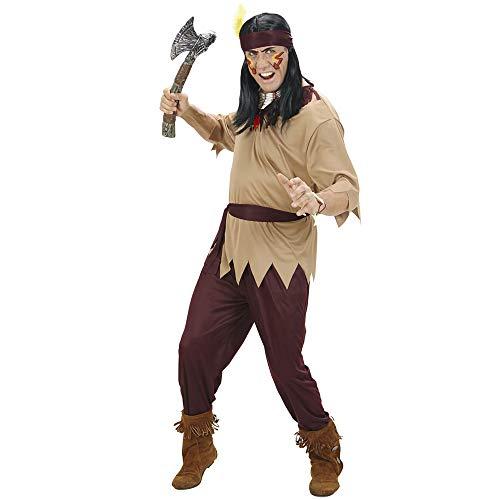 WIDMANN 02743 Erwachsenen Kostüm Indianer, Mehrfarbig, - Anführer Kostüm Männer