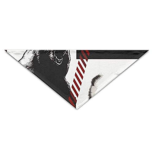 nxnx Bear Panda Turban Triangle Scarf Bib Scarf Accessories Pet Cat Baby Puppy Saliva Dog Towel