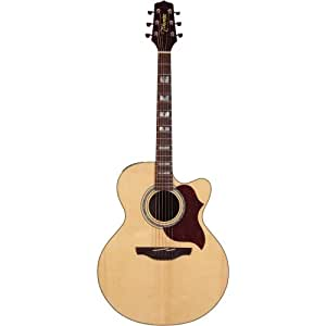 TAKAMINE EG523SC NATURAL Acoustic electric guitars Steel acoustic-electrics