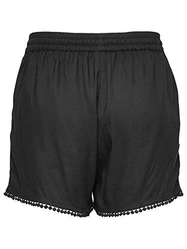 JACQUELINE de YONG Viskose Shorts JDYCOACH 15141234 Black