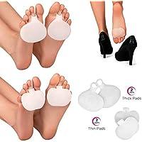 Almohadillas para el alivio del dolor de la metarsalgia (8 piezas). 4 pares