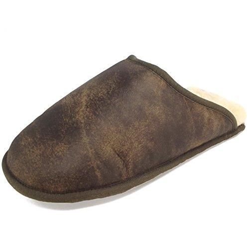 Fellhof Trendy, Pantoufles unisexe brun (antik)