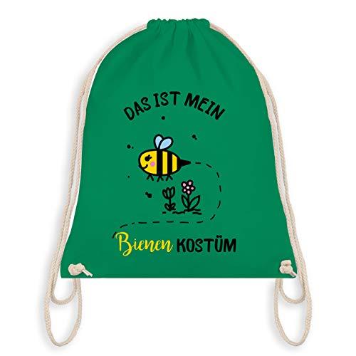 Karneval & Fasching - Das ist mein Bienen Kostüm - Unisize - Grün - WM110 - Turnbeutel & Gym Bag