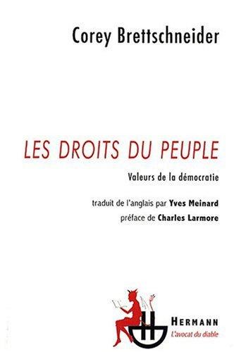 Les droits du peuple : Valeurs de la démocratie