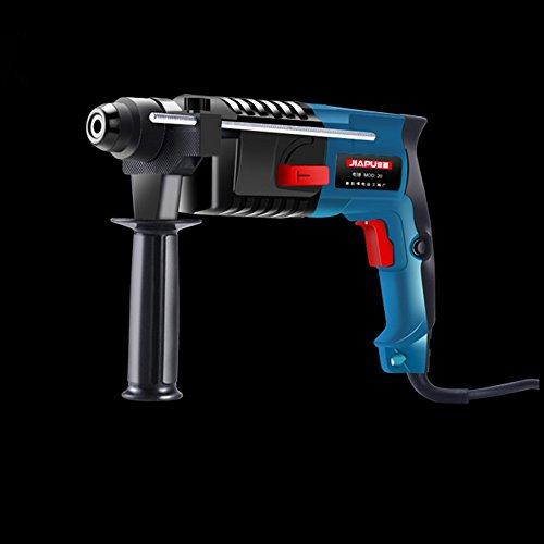 Slongda DIY Schlagbohrmaschine SLD-206, Tiefenanschlag, Zusatzhandgriff, Koffer (1200 Watt, max. Bohr-Ø: Holz: 25 mm, Beton: 13 mm, Stahl: 8 mm)
