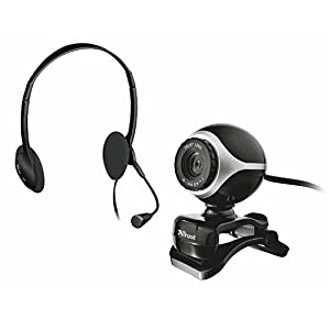 Trust Exis Chatpack Webcam + Casque