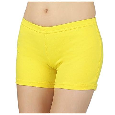 Damen Shorts Hotpants Kurze Hose Sport Shorts Baumwolle Sommershorts Fitness