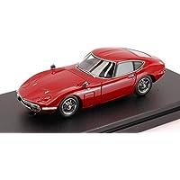 HPI Racing HPI8331 Toyota 2000 GT 1970 Red 1:43 MODELLINO Die Cast Model