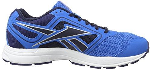 Reebok - Zone Crushrun, Scarpe da corsa Uomo Blu (Blau (Cycleblu/Clubblu/Fxindigo/Slvrmt/Wht/Collnvy))