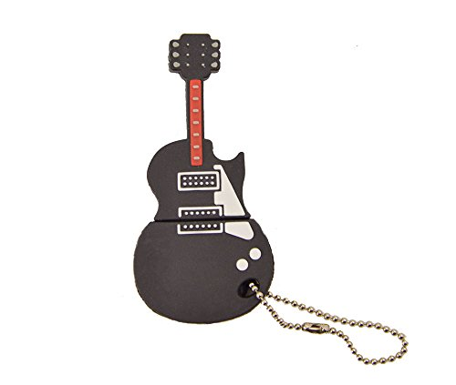 Febniscte chitarra nero 128gb penna usb 2.0 flash drive