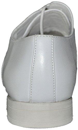 Chaussures à lacets à doublure intérieure cuir t01all blanc 001