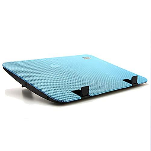 """Leichter/Slim Design Notebook Cooler, 12"""" -16"""" Stiller Laptop Kühler Pad Steht Mit 2 USB Powered Fans 1000 RPM"""