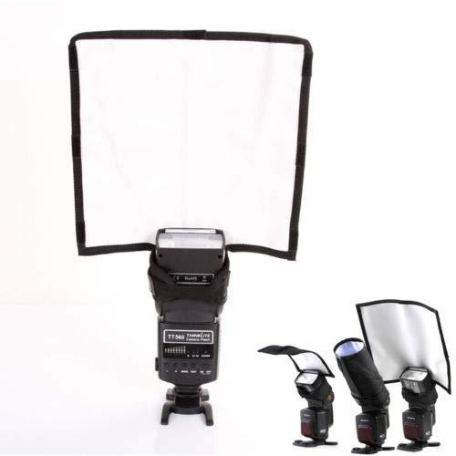 FidgetGear Faltbarer Speedlight Reflektor Snoot Sealed Flash Softbox Diffusor Bender Beam L Beam Diffusor