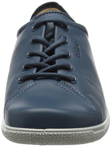Hotter Dew EXF, Scarpe Stringate Oxford Donna Blue (Blue River)