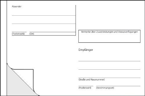 Sigel AS600 selbstklebende Adress-Aufkleber / Paket-Aufkleber, für Handbeschriftung, A6 quer, 100 Stück