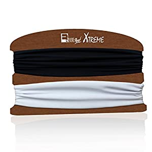 Sport Stirnband für Herren und Damen. Headband Perfekt beim Laufen, Joggen, Yoga, Fitness, Gymnastik, Training und auf Reisen. Schweißabsorbierend, elastisch und sicher