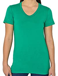 American Apparel Poly/Cotton Short Sleeve Women's T