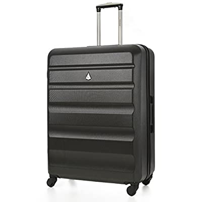 "Aerolite Large 29"" Super Lightweight ABS Hard Shell Travel Hold Check In Luggage Suitcase with 4 Wheels"