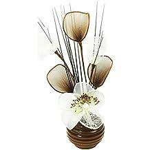 Flourish - Vaso con fiori finti in