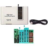 GQ marca GQ-4X4 USB universal 40 pines programador + 16 bit EPROM adaptador 28F102 27C400 27C800 27C160 27C322 27C1024 27C2048 27C4096 27c4002 M27C322 programador