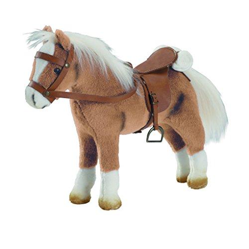 Preisvergleich Produktbild Götz 3401926 Haflinger Fritz Pferde-Puppe - Kämmpferd biegsames für Stehpuppen - robustes Plüschpferd und ein treuer Begleiter für Kinder ab 3 Jahren