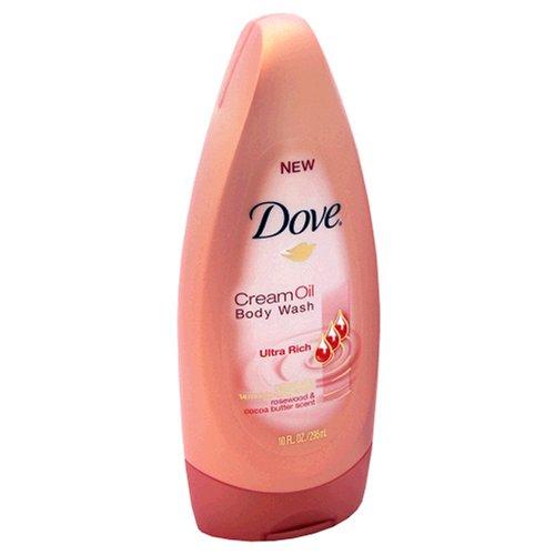 Dove Cream Oil Body Wash Ultra Rich Rosewood & Cocoa...