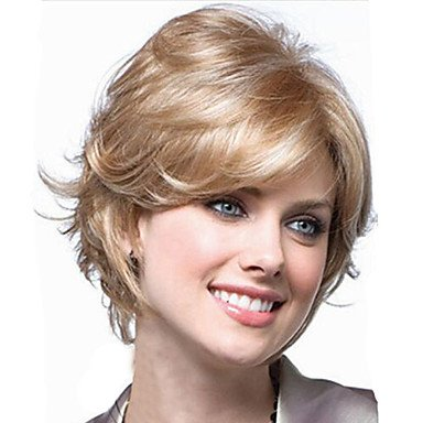 hjl-europa and the United States high temperature Silk Wig of High Quality Way Of High Quality Synthetic Hair Short Hair,