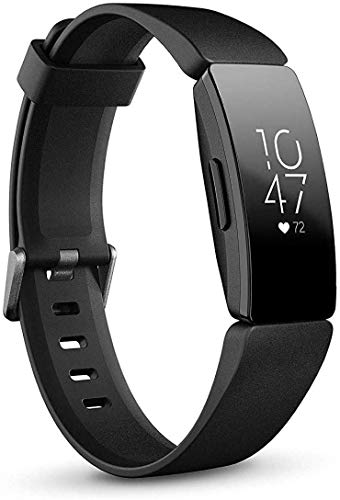 Fitbit Inspire HR Health and Fitness Tracker with Heart Rate (Black)