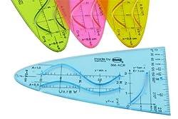 Parabel Pop Farben 366 Sinus-, Cosonus und Tangens Kurve - Liefermenge 20 Stück