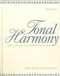 Tonal Harmony by Stefan Kostka (1994-03-30)